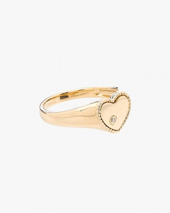 Baby Chevaliere Coeur Ring