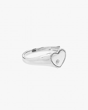 Baby Chevaliere Coeur Ob Ring