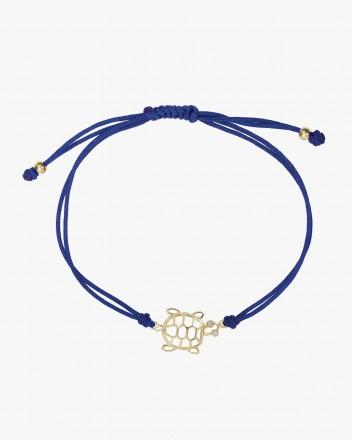 Bracelet Tortue Fil Marine