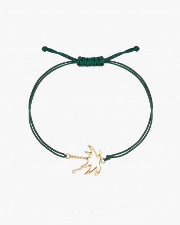Bracelet Palmier Fil Vert