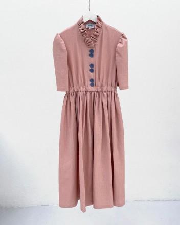 Eleonora Rose Linen Dress
