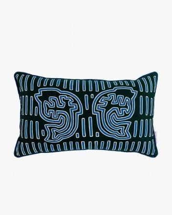 Apirginedi Cushion in Blue...