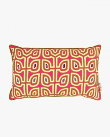 Helecho Cushion in Pink and...