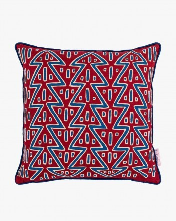 Tree Of Life Cushion in Red...