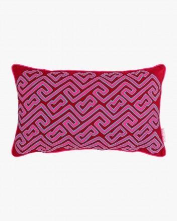 Jaspe Labyrinths Cushion in...