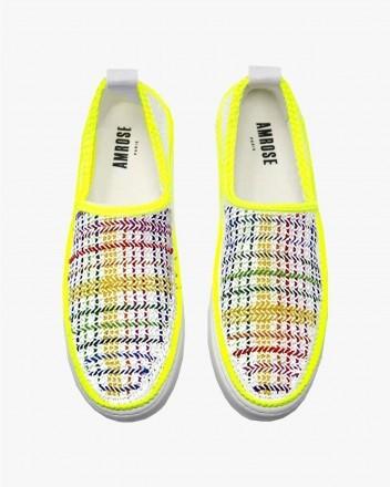 Neon Psychedelique Sneakers