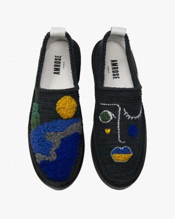 Poetic Lake Sneakers