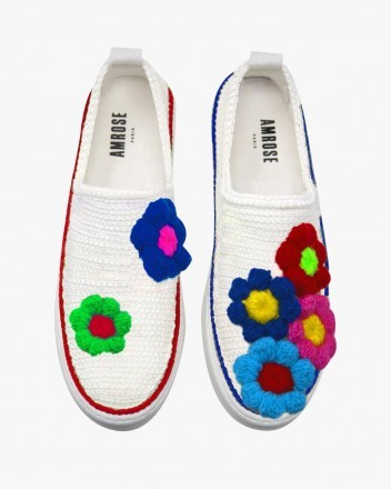 Puff Blossom Sneakers