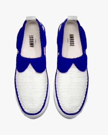 Blue Tea Time Sneakers