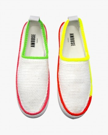 Neon Quadricolore Sneakers