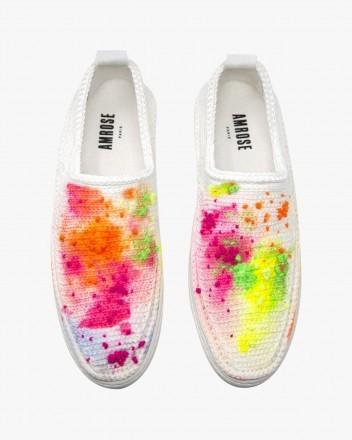 Neon Painting Sneakers