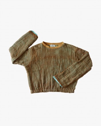 Gauze Sweatshirt Soil