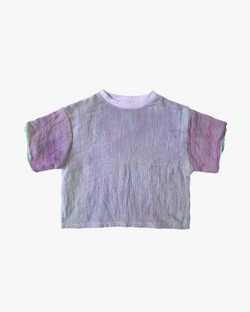 Gauze T- Shirt Lavender