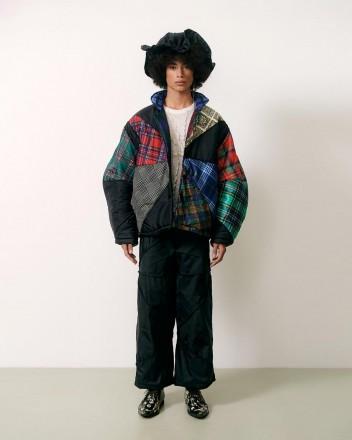 Umbrella Patchwork Jacket