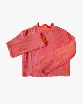 Gauze Sweatshirt Candy
