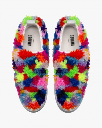 Rainbow Monster Sneakers