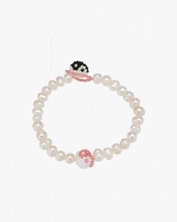 Pearl Pink Yin Yang Bracelet
