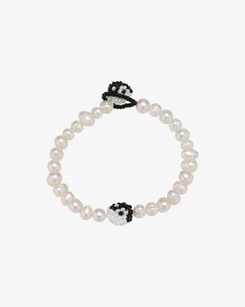 Pearl Yin Yang Bracelet