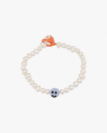 Pearl Orange Emotions Bracelet
