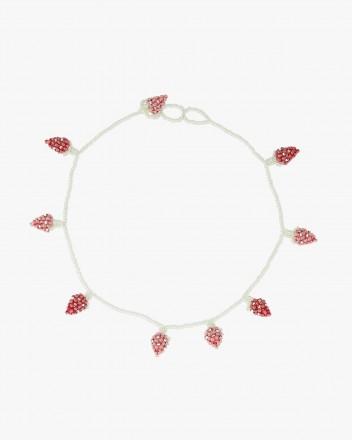 Multi Strawberry Necklace