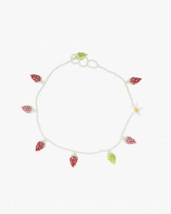 Strawberry Field Necklace
