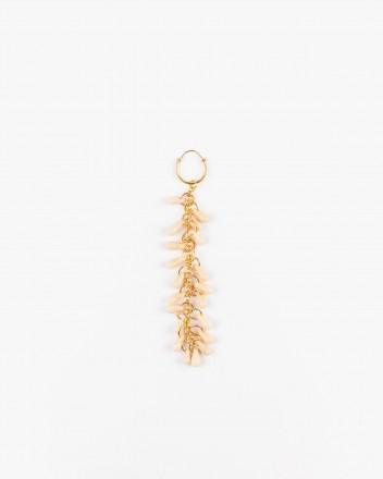 Crystal Earrings in Crudo