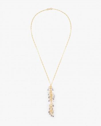 Crystal Necklace in...