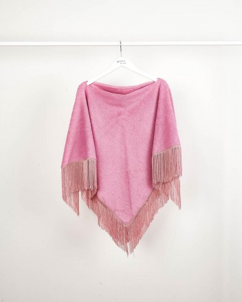 Poncho Towel Pink