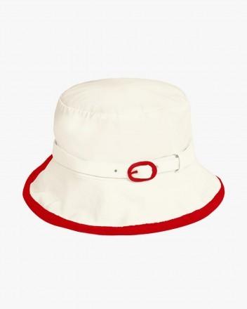 Solar Hat in White