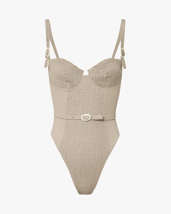 Anemona Swimsuit in Brown