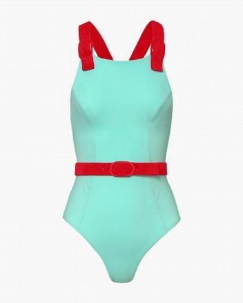 Typhoon Swimsuit in Blue