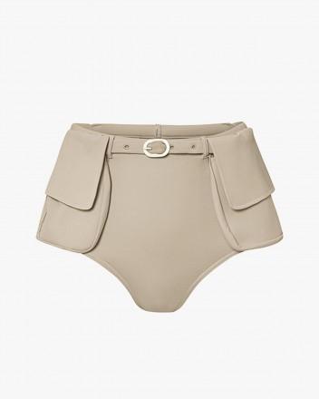 Jackie Bikini Bottom in Brown