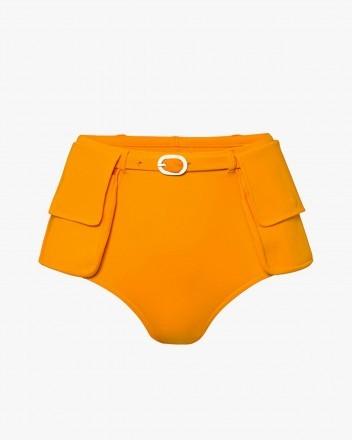 Jackie Bikini Bottom in Orange