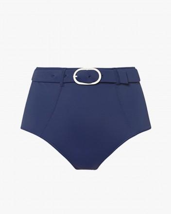 Oasis Bikini Bottom in Navy