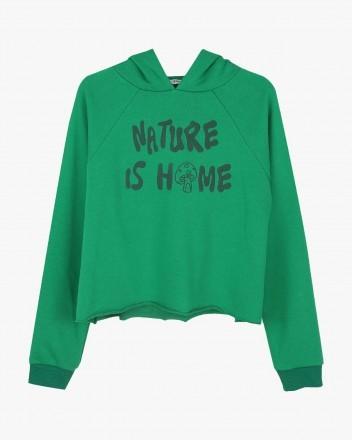 Nature Green Hoodie