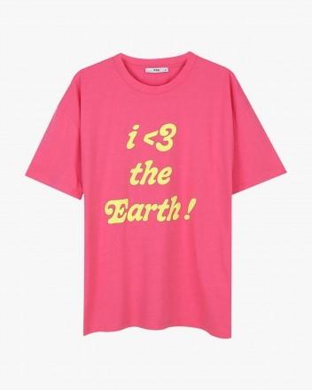 Love Earth Pink Tshirt