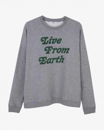 Live Earth Grey Sweatshirt