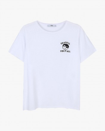 Grateful White Tshirt