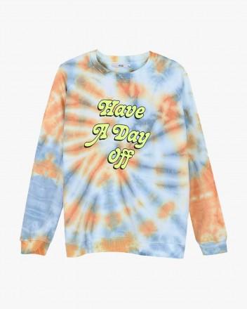 Day Off Tie Dye Sweatshirt