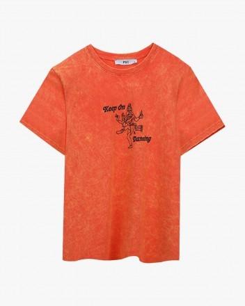 Dancing Orange Tshirt