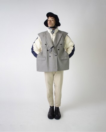 Blazer x Fila puffer coat...