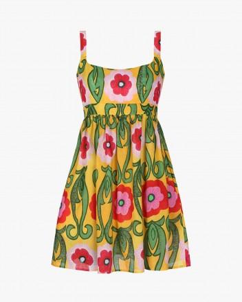 Ceiba Dress in Gladiola print