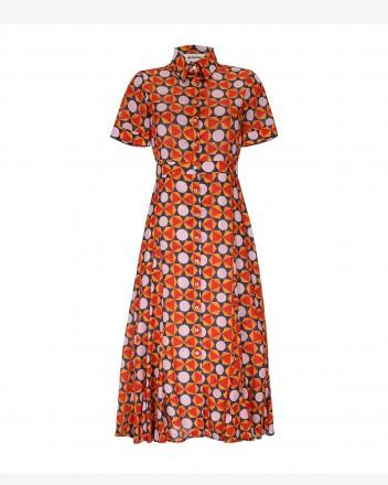 Coco Dress in Geometria print