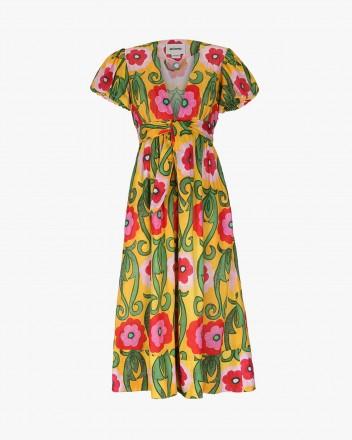 Asuncion Dress in Gladiola...
