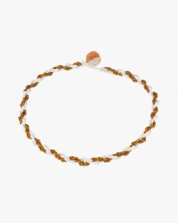 Vuelto Orange Necklace