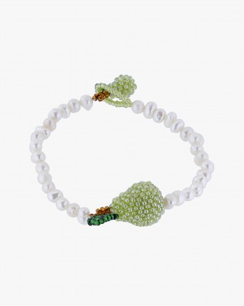 Pearl Pear Bracelet