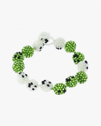 Green Smiley Galore Bracelet