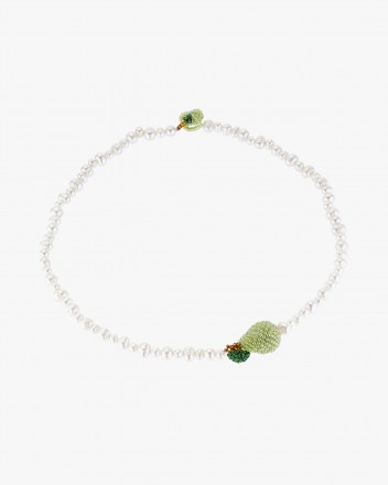 Pearl Pear Necklace