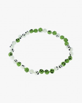 Green Smiley Galore Necklace