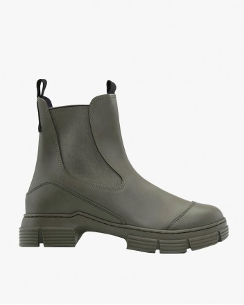 Recycled Rubber Boot Mid
